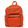 Ash Danica Womens Medium Backpack Blood Orange Perforated Leather  125034 (821)