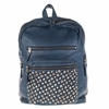 Ash Domino Womens Studded Backpack Denim Leather  124043 (642)