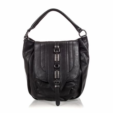 Ash Dree Womens Crossbody Black Leather 124071 (001)