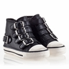 Ash  Fanta Toddler Sneaker Black Leather 330474 (001)