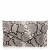 Ash Franki Womens Clutch Hand Bag Natural & Black Snake Print Leather  125020 (101)