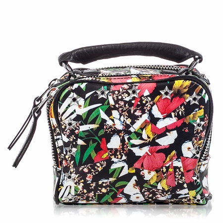 Ash Franki Womens Crossbody Bag Floral Print  Leather  125040 (991)
