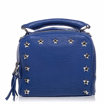 Ash Franki Womens Crossbody Cobalt Leather  125030 (731)