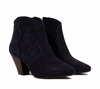 Ash Gang Womens Boot Midnight Suede 350029 (407)