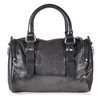 Ash Georgia Womens Crossbody Graphite Cracked  Leather  124004 (060)