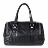 Ash Georgia Womens Satchel Black Leather  124005 (001)