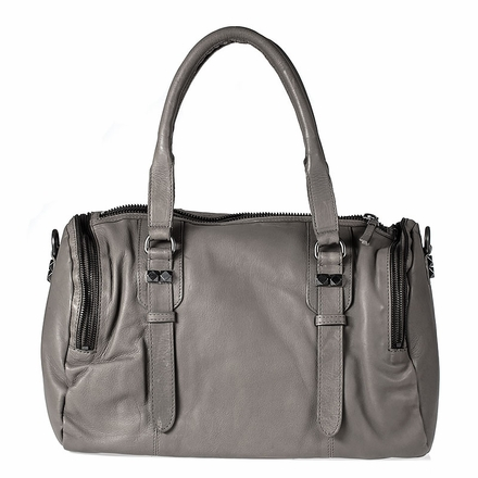 Ash Georgia Womens Satchel Grey Leather  124005 (020)