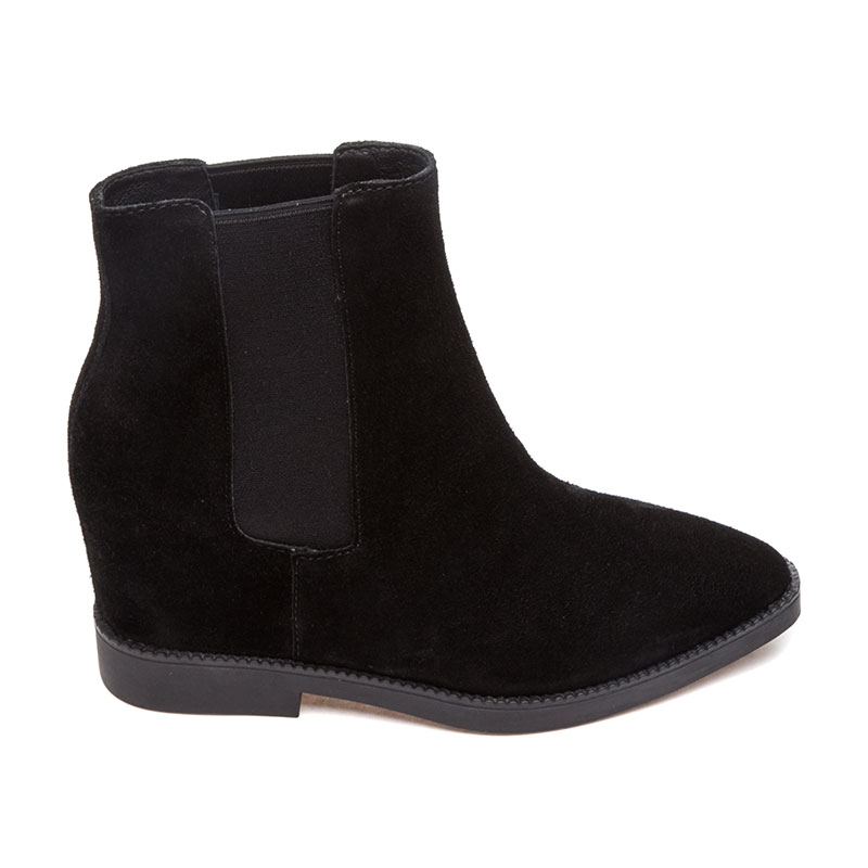 ASH Gong Womens Boot Black Suede 360340 (001)