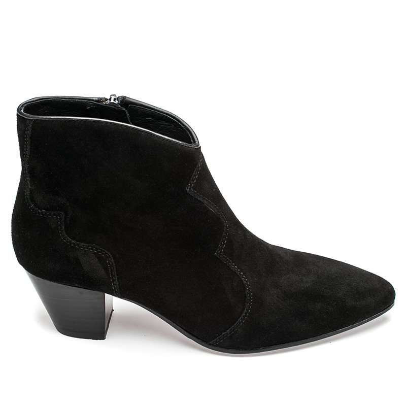 Ash Hurrican Boot Black Suede 360253 (002)
