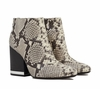 Ash Indy Womens Boot Roccia Snake Print Leather  350050 (266)