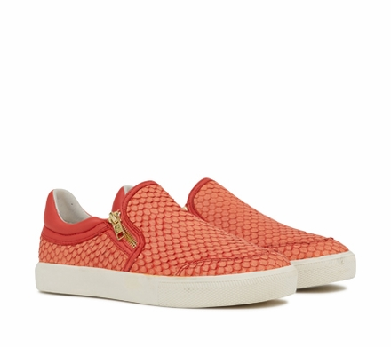 Ash Intense Womens Slip On  Coral Snake Print Leather 350055 (637)