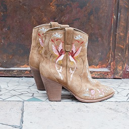 Ash Jenny Boot Russet Suede 360404 (909)