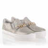Ash Joe Womens Slip On Sneaker Sand Leather  340667 (298)