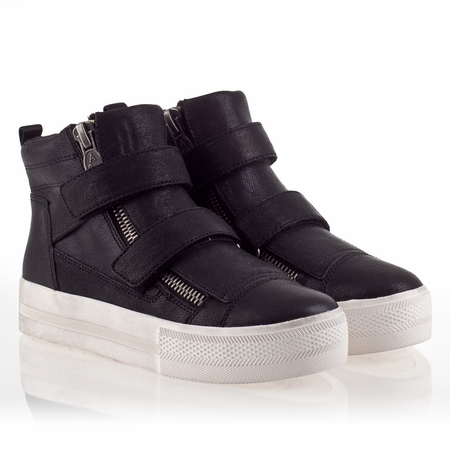 Ash Jump Womens Sneaker Black Leather 340025 (002)