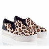 Ash Jungle Womens Sneaker  Cream Leopard Hair Calf 340011 (102)