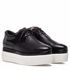 "<font size=""2"" color=""red"">NEW</font><p>Ash Katia Womens Lace Up Sneaker Black Leather & Patent 350415 (002)"