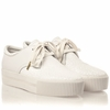Ash Keanu Womens Lace Up Sneaker White Leather 350083 (113)