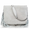 Ash Kimi Womens Crossbody White Snake Print Leather  125005 (100)