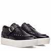 "<font size=""2"" color=""red"">NEW</font><p>Ash Kony Bis  Womens Sneaker Black Snake Print Embossed Leather 350429 (002)"