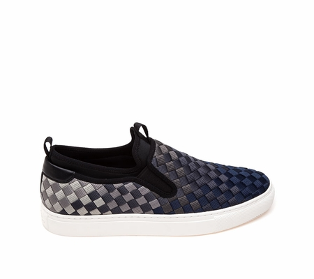 Ash Larry  Mens Sneaker Midnight Grey Woven Fabric 360388 (401)
