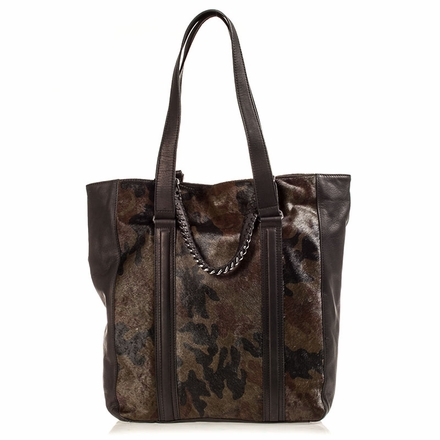 Ash Lux  Womens Tote Camouflage Hair Calf 124086 (989)