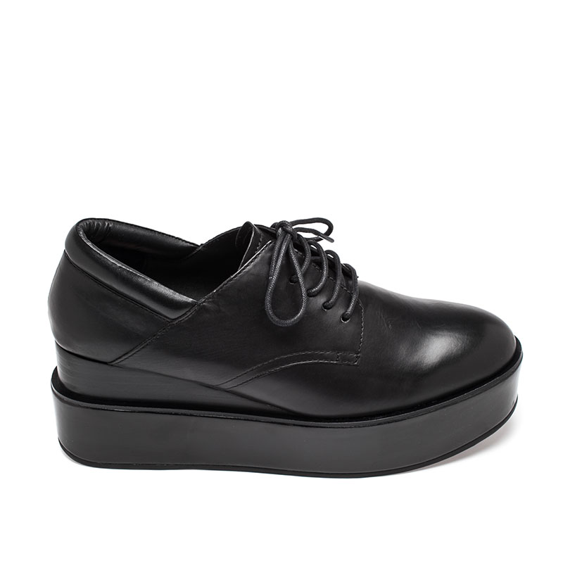 Ash Madness Womens Oxford Black Leather 360267 (964)