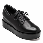 best seller Ash Madness Womens Oxford Black Leather 360267 (964)
