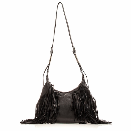 Ash Marley  Womens Hobo Black Leather 124089 (001)