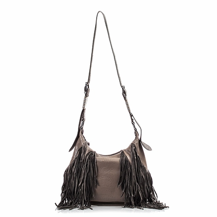 Ash Marley  Womens Hobo Grey Leather 124089 (020)