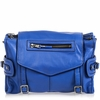 Ash Mason Womens Messenger Bag Cobalt Leather  125004 (431)