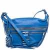 Ash Maze Womens Crossbody Handbag Azure Blue Nappa Leather  125056 (445)
