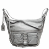 Ash Maze Womens Hobo Bag Stone Grey Nappa Leather  125057 (038)
