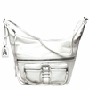 Ash Maze Womens Hobo Bag White Nappa Leather  125057 (100)