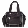 Ash Mick Womens Satchel Black Leather  124001 (001)