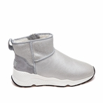best seller Ash Miko Womens Boot Silver Metallic Leather  360400 (040)