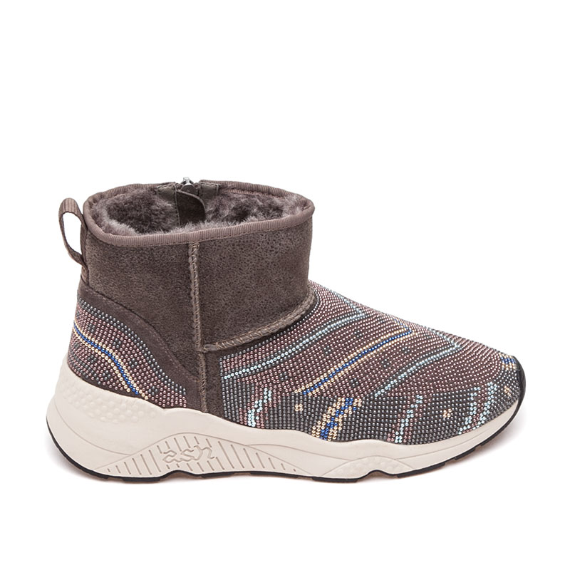 Ash Mohican Womens Boot Topo  Suede 360406 (235)
