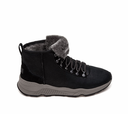 Ash  Monk Mens Boot Black Leather 360393 (964)