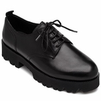 best seller Ash Nox Womens Oxford Black Leather 360276 (001)