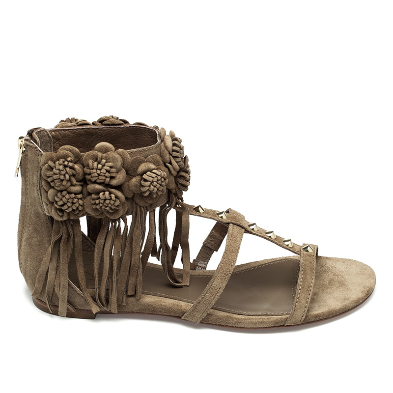 Ash Ophely Womens Wilde  Suede Sandal  360081 (201)