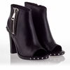 Ash Patty Womens Boot Black Leather 340346 (001)