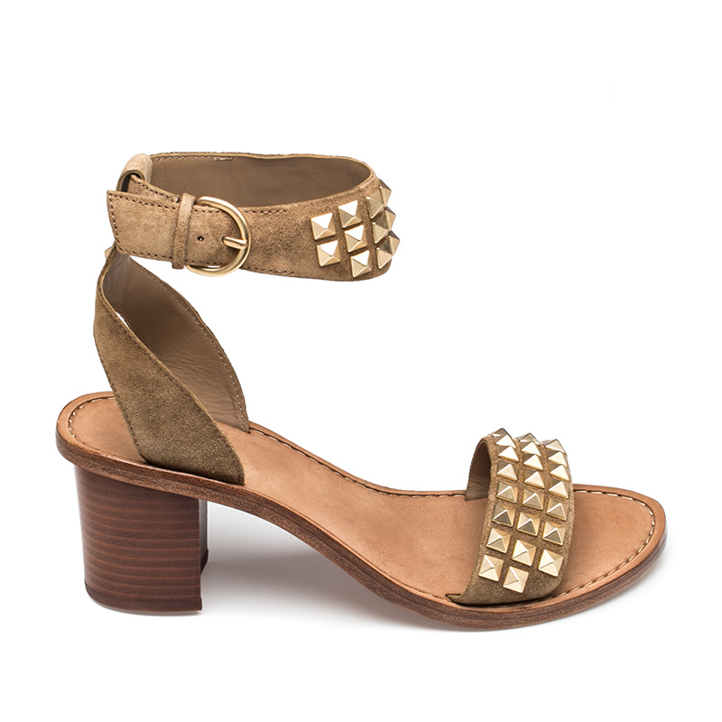 Ash Pearl Womens Wilde Leather Wedge Sandal  360217 (278)