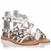 Ash  Penelope Womens White Leather Sandal  350197 (100)
