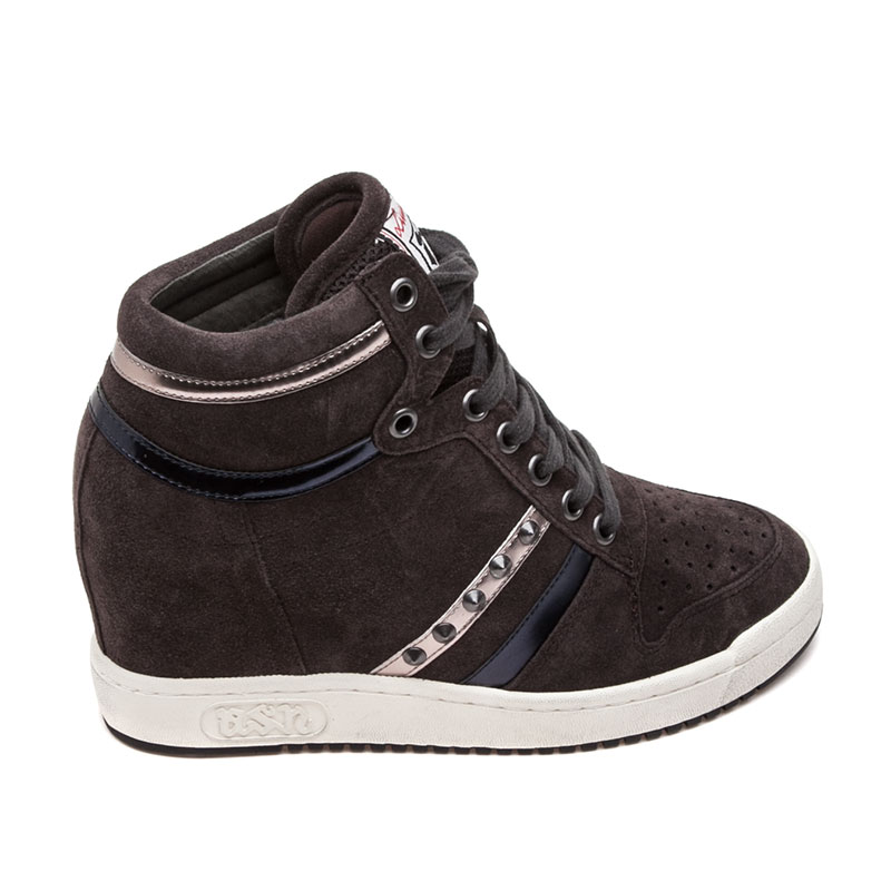 Ash  Prince Bis Womens Wedge Sneaker Bistro Multi Suede 360362 (061)