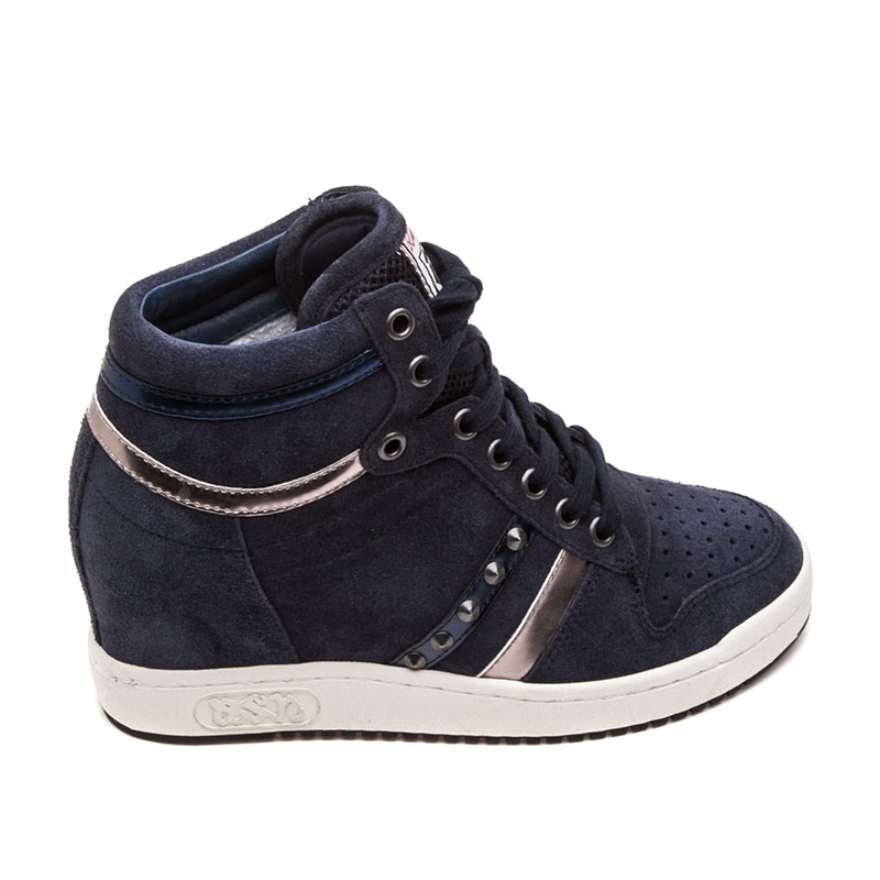 Ash  Prince Bis Womens Wedge Sneaker Everest Suede 360363 (303)