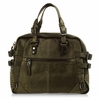 Ash Scout Womens Satchel Army Leather 124094 (347)