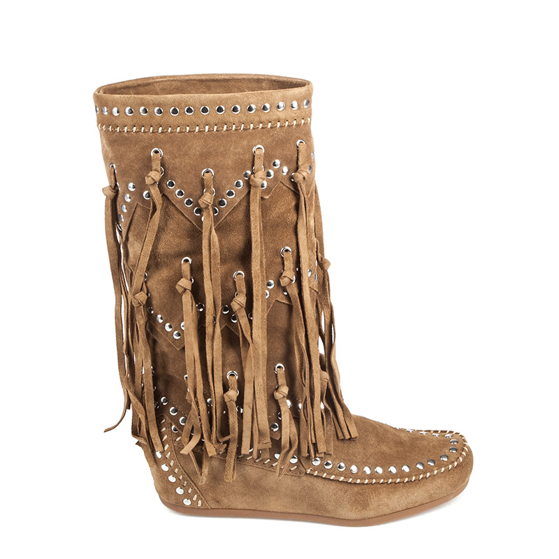 ASH Shilo Womens Fringe Boot Wilde Suede 350651 (274)