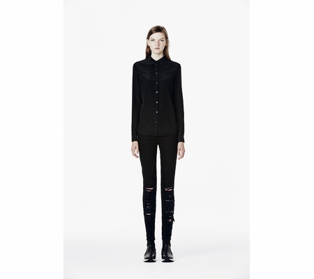 Ash Studio Paris Criss Black Long Sleeve Shirt 265061 (001)
