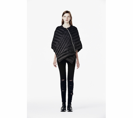Ash Studio Paris Militia Black Cape 265148 (001)
