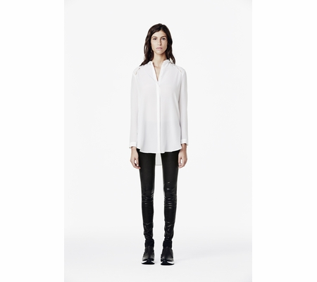 Ash Studio Paris Risky White Long Sleeve Shirt 265064 (100)