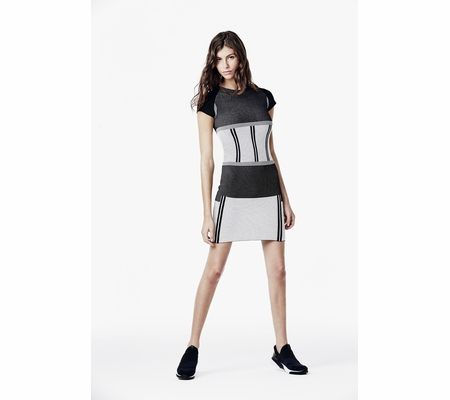 Ash Studio Paris  Roar Dress Black & White  265116 (019)